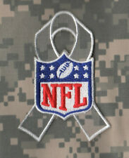 NFL SALUTE TO SERVICE ACU CAMOUFLAGE RIBBON PATCH as seen on Player's Jersey