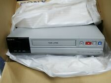 Sony Time Lapse Videocassette Recorder Svt 168e