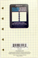 Pack Of 32 Filofax Pocket Size (3.5 X 5.5) Notebook Refills, Squared