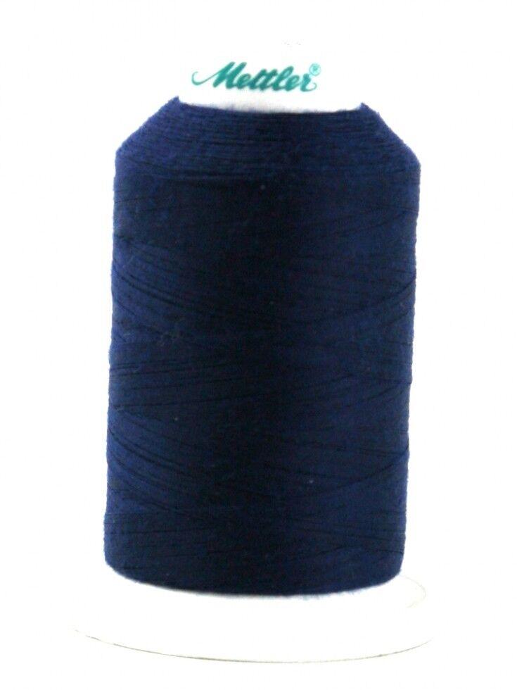 each 1228-1000-M Mettler Seracor Polyester Overlock Sewing Thread 2500m