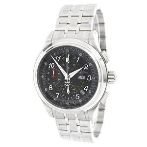 Ball-Men-039-s-Watch-Trainmaster-Chronograph-Black-Dial-Bracelet-CM1010D-SJ-BK
