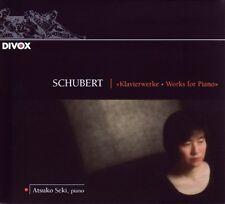 Atsuko SEKI / Schubert - Works for Piano / (1 CD) / NEUF