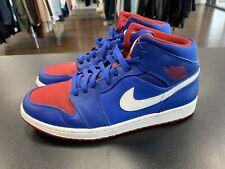 new product 9934a 14e58 item 1 Nike Air Jordan 1 DETROIT PISTONS Royal Blue Red SIZE 11 554724 407 -Nike  Air Jordan 1 DETROIT PISTONS Royal Blue Red SIZE 11 554724 407