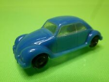 VINTAGE PLASTIC - VW VOLKSWAGEN BEETLE  DBGM  - 1:87 ?  5.2CM  -  GOOD CONDITION