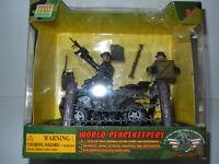 World Peacekeepers Power Team Elite U.s. Army Ranger 1:18 Scale Play Set