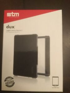 New Stm Dux Black Rugged Case For Ipad Air Stm 222