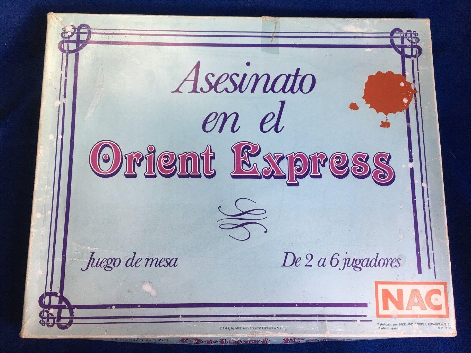 ASESINATO EN EL ORIENT EXPRESS DE NAC
