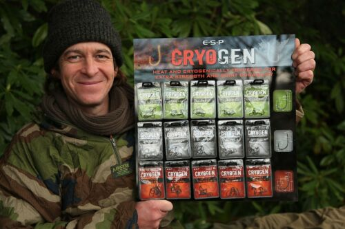 ESP Cryogen Barbed Carp Fishing Hooks All Sizes /& Patterns Available