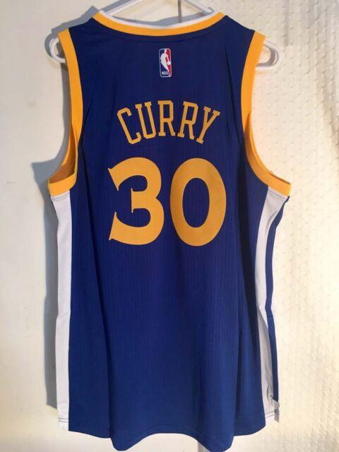810915c76 Adidas Swingman 2015-16 Jersey Golden State Warriors Stephan Curry Blue L