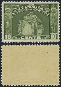 Canada-Scott-209-10c-United-Empire-Loyalists-1934-Anniversary-Issue-VF-NH