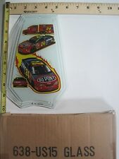 FREE US SHIP OK Touch Lamp Replacement Glass Panel NASCAR Jeff Gordon 638-US15