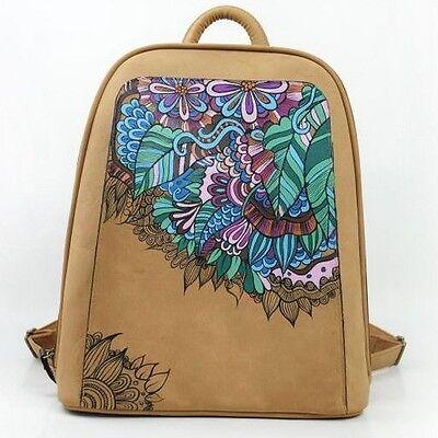 New Fashion Women Bag Vintage Canvas Satchel Girls' Backpack Shoulder School Bag