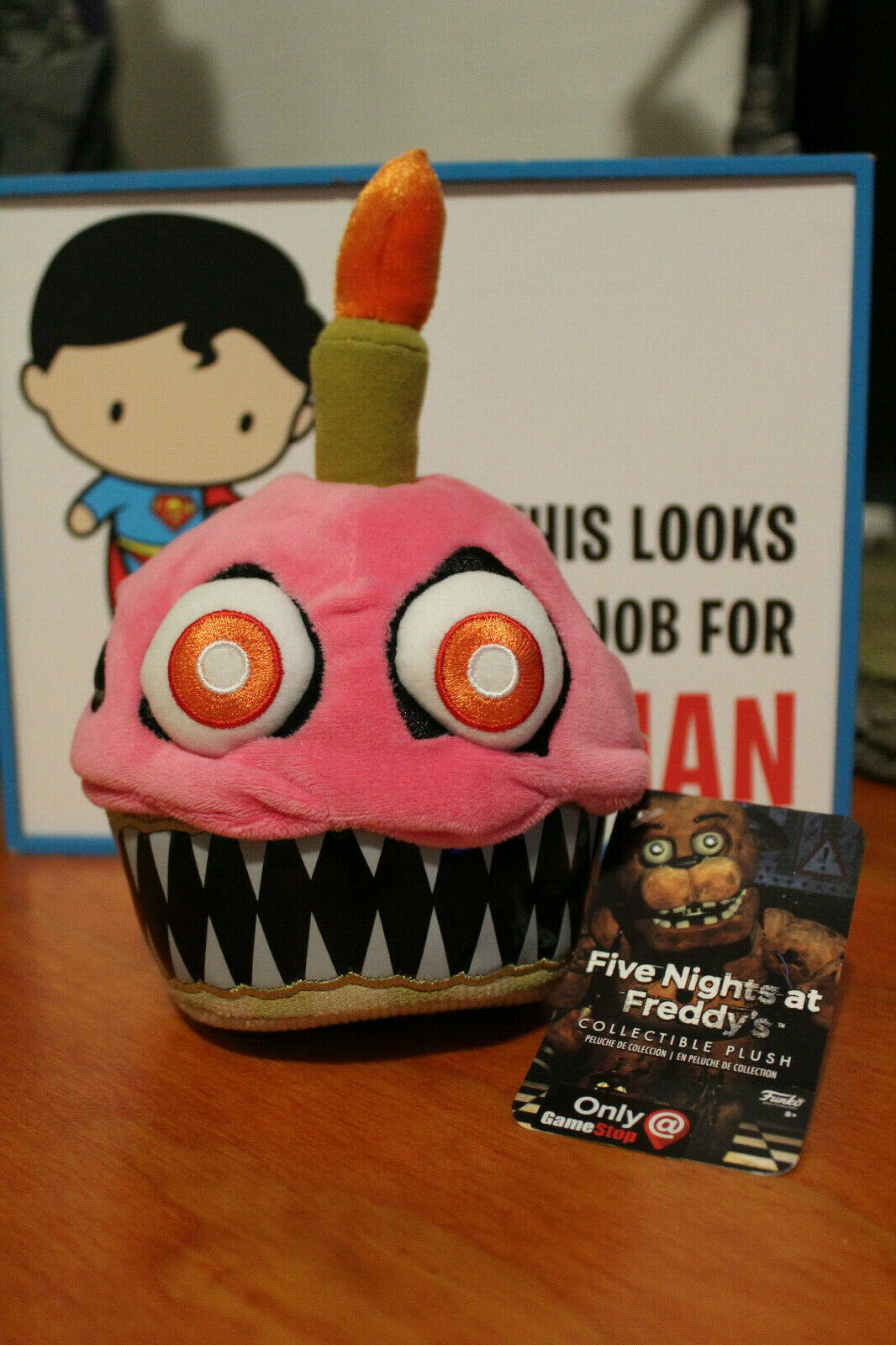Funko Five Nights At Freddy's Freddy's Freddy's Nightmare Cupcake Gamestop Exclusive Plush f8b47f