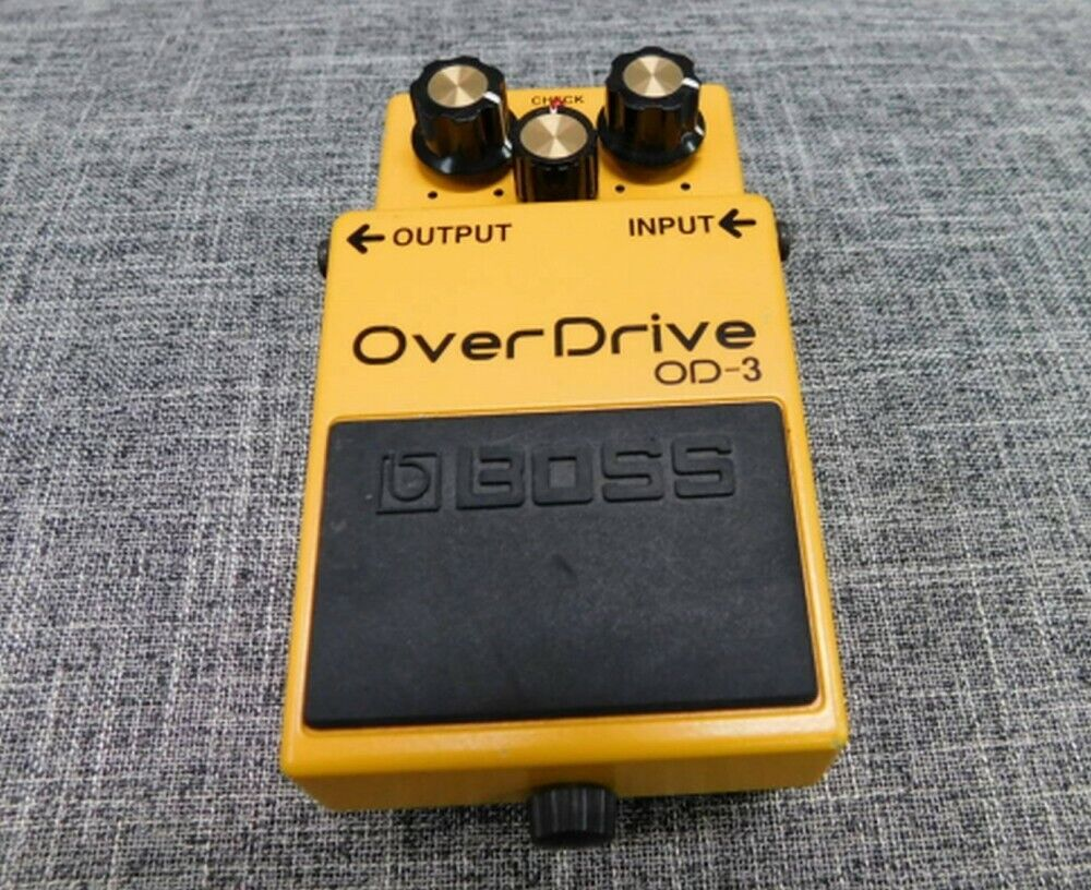 BOSS OverDrive OD-3 Guitar Effects electro