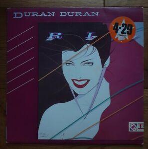 Duran-Duran-Rio-EMI-EMC-3411-Vinyl-LP-Album-Stereo-Early-Pressing