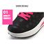Tenis De Mujer Moda Zapatillas Para Deporte Plataforma De Cuñas Impermeable 2020