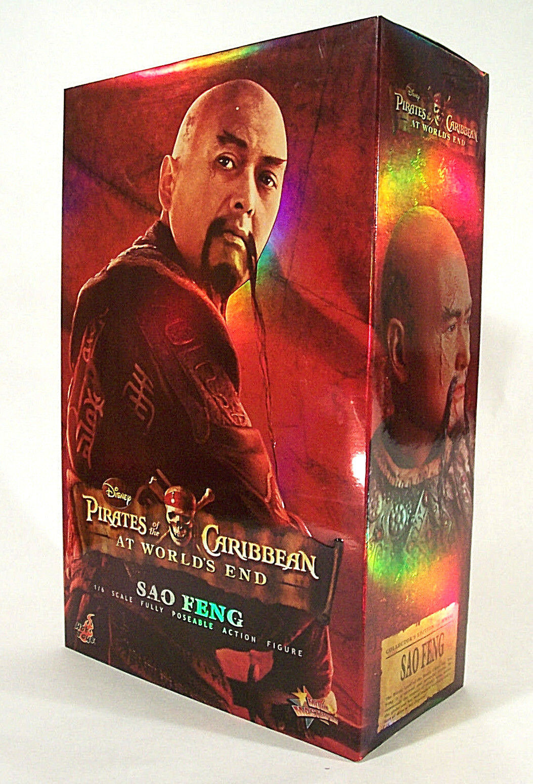 Hot Toys MMS 41 POTC SAO FENG FENG FENG  At Worlds End  1 6 Scale Figure  NEW & MIB 63b7ef