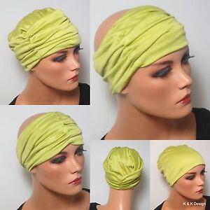 Bescheiden Raffstirnband Haarband Lemon Ideal Zum Fixieren MÜtze Chemo Haare Yoga Hüte & Mützen Damen-accessoires