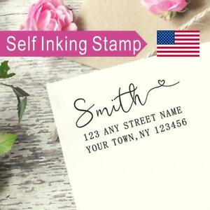 Details About Personalized Return Address Stamp Wedding Gifts Custom Address Stamp As078