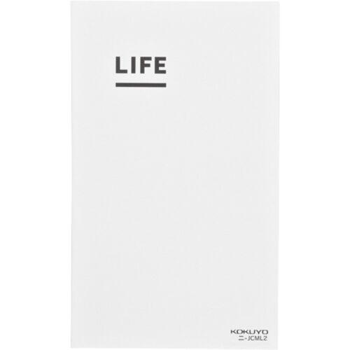 Kokuyo Jibun Techo LIFE B6 slim mini white Japan