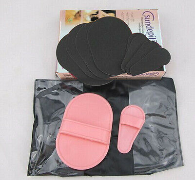 Miraculous Painless Face Skin Smooth Legs Cleaner Hair Removal Pads Easier Safer