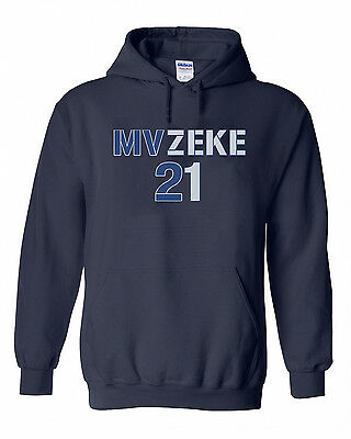 "Ezekiel Elliott Dallas Cowboys /""MVZEKE/"" T-Shirt MVP Hooded SWEATSHIRT HOODIE"