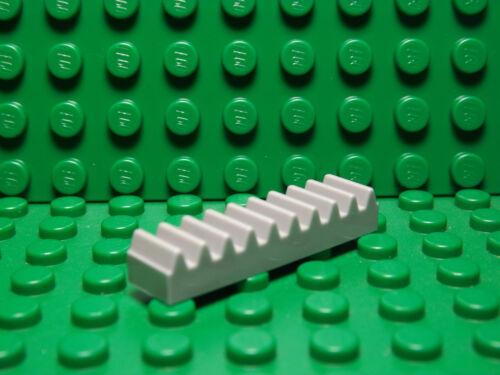 Lego NEW light bluish gray 1 x 4 technic gear rack pieces   Lot of 4