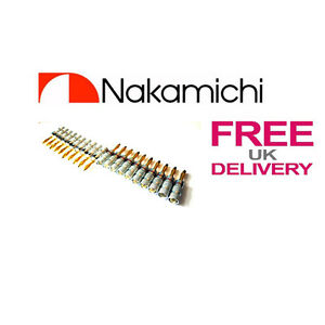 20-x-Quality-Nakamichi-Speaker-banana-plug-24k-Gold-plated-connector-UK