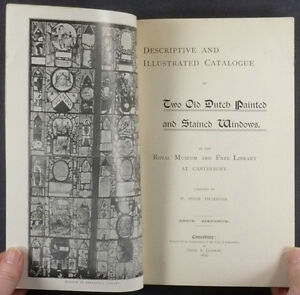 17th-Century-Dutch-Stained-Glass-Panels-Canterbury-Library-1899-Catalog