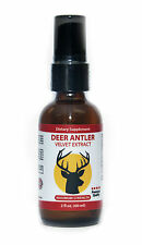 1 Bottle Deer Antler Velvet Extract Spray 60 ml. 2 fl.oz (Maximum Strength)