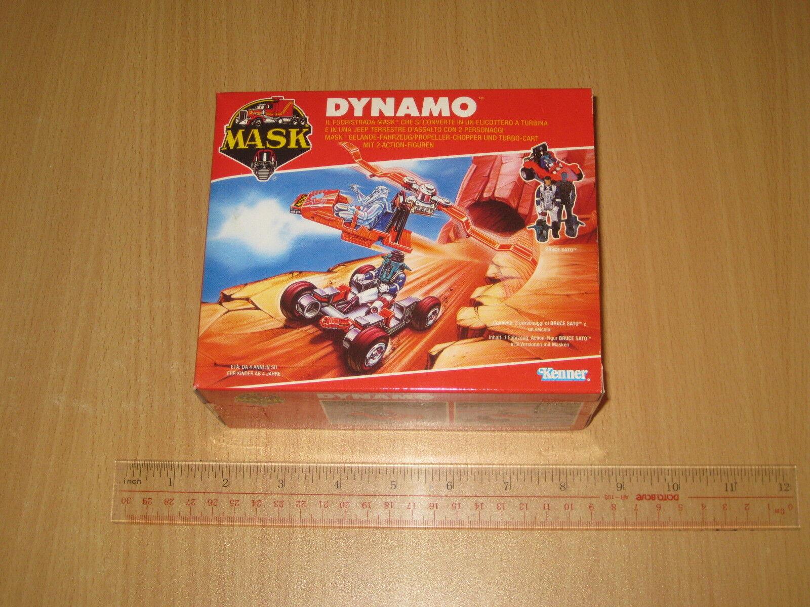 Kenner Vintage MASK(M.A.S.K.) Dynamo 1987 Box C8