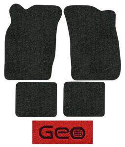 Details about 1989-1990 Geo Metro Floor Mats - 4pc - Cutpile