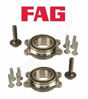 Audi A4 A5 A6 Quattro Allroad S5 S6 S8 Pair Set Of Two Front Wheel Bearing Kits