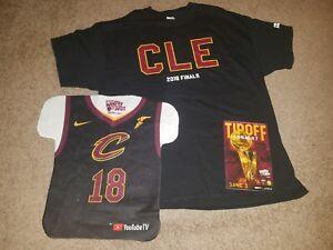 new photos 7ffeb 43a41 Details about Cleveland Cavs 2018 NBA Finals Game 3 'Blackout' XL T-Shirt -  SGA 6/6/18
