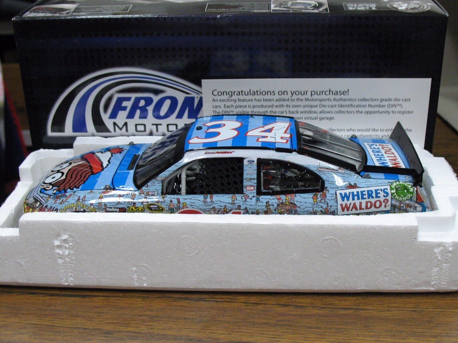 4 Car Lot David Ragan NASCAR 1:24  34 2012 & 2014 Fusion Waldo KFC CSX Farm Rich