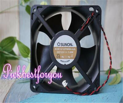 1pcs SUNON fan KD1212PMB1-6A 12CM 12V 6.8W 2 wire