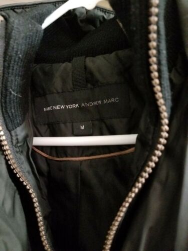 Marc Du En Andrew M dessus Noir Femmes New York Genou Taille Veste Au rfqrOw