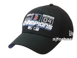 3652f391e Boston Red Sox 2004 World Series Champions New Era Locker Room Hat ...