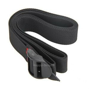 2.5M x 25mm Baggage Luggage Cam Buckle Tie Down Pull Tight Strap Set Pack of 4