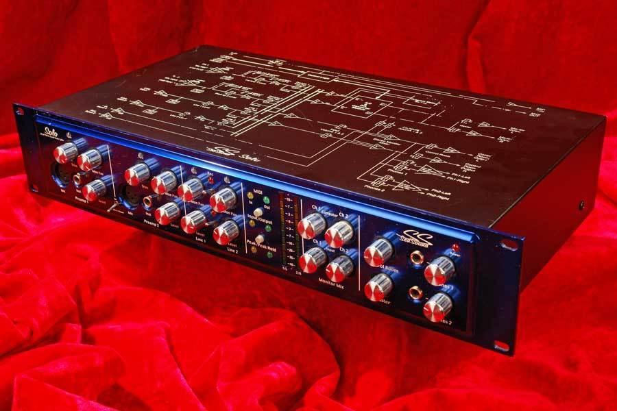 Sweet  SEA SOUND Solo EX Quad Preamp +Computer Monitor 24bit 96Khz Oberheim