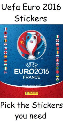 PANINI EUROPEI 2016 FRANCIA adesivi libero ALBUM PICK 30 numeri di cui hai bisogno.