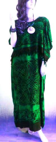 Nouvelle robe celtique Caftan Caftan Plus Un Taille Refroidir Souple Long Mesdames soft romain