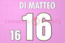 Di Matteo #16 1996 EURO Italy Homekit Nameset Printing