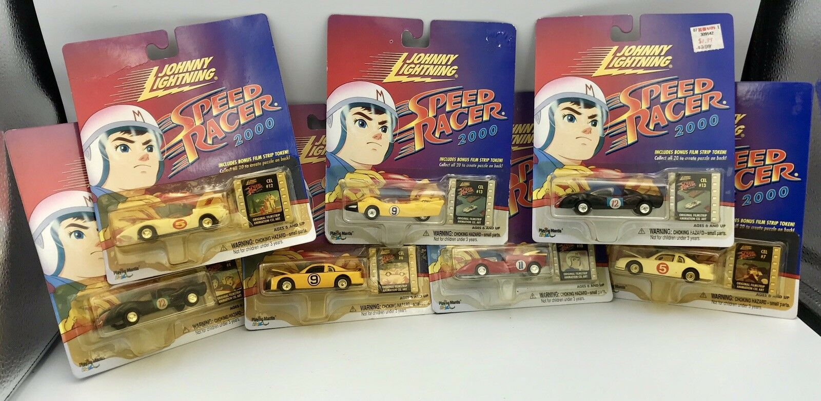 Johnny lightning 1   64 speed racer 2000 (menge 7 autos - mib)