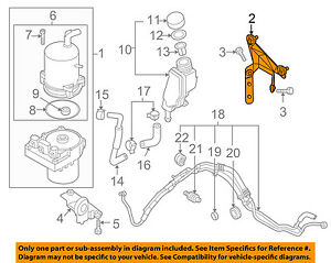 MAZDA-OEM-06-10-5-Power-Steering-Pump-Mount-Bracket-C23832603