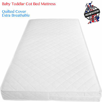 89 X 42 cm Inspire Baby Toddler COT Crib Bed Breathable Quilted and Waterproof Foam Mattress Size