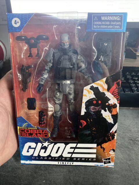 Hasbro G.I. Joe Classified Series Cobra Island Firefly Target Exclusive In Hand