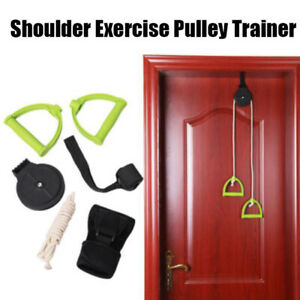 Shoulder-Esercizio-Spalla-Attrezzatura-Pulley-Braccio-Allenamento-Cervicale
