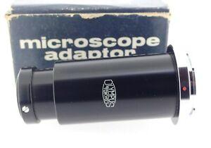 Olympus-Genuine-Pen-F-film-camera-Microscope-Adapter-boxed-w-instructions