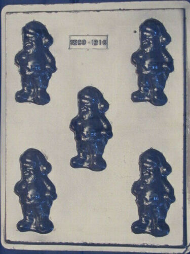 Santa Claus Chocolate Candy Mold Christmas 1216 Soap Party Favor